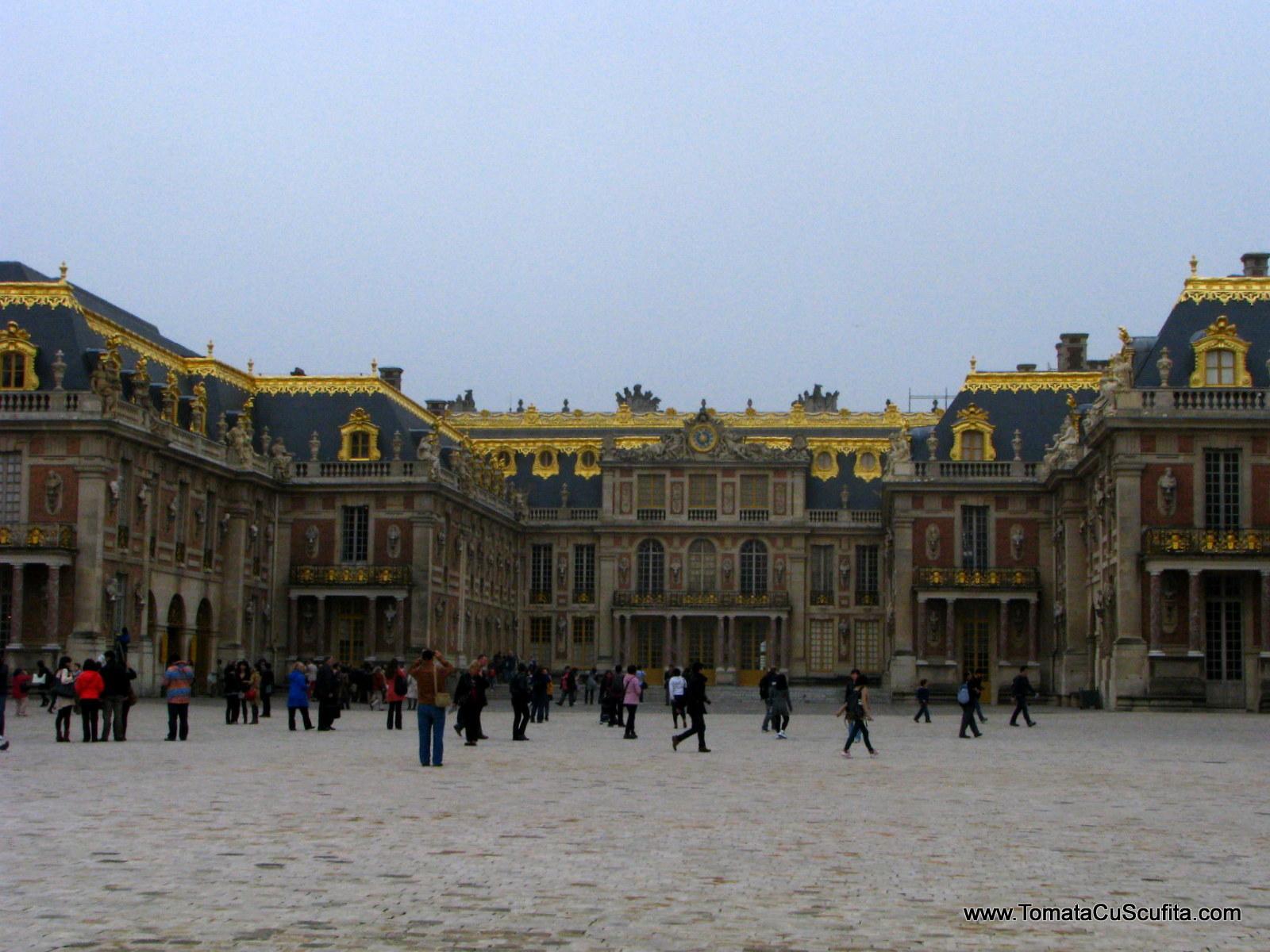 la resedinta lui Ludovic al XIV-lea