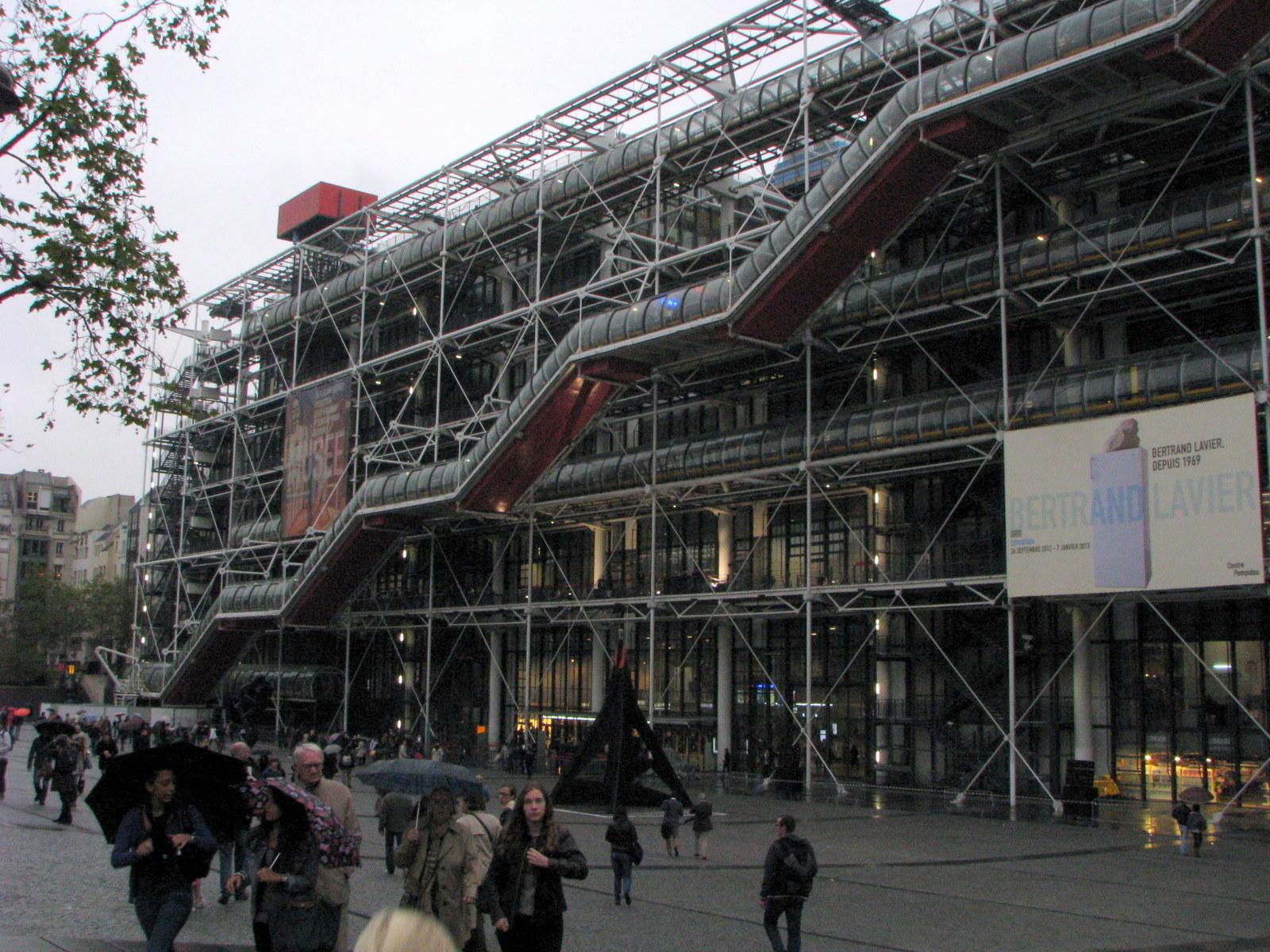muzeul de arta - centre pompidou paris