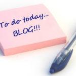 La ce ești dispus să renunți pentru blog?