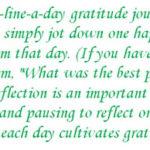 Nu-i ușor să găsești câte o bucurie în fiecare zi