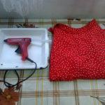 DIY: tavă îmbrăcată în material