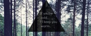 Vino acum, o să-ți țin eu de cald
